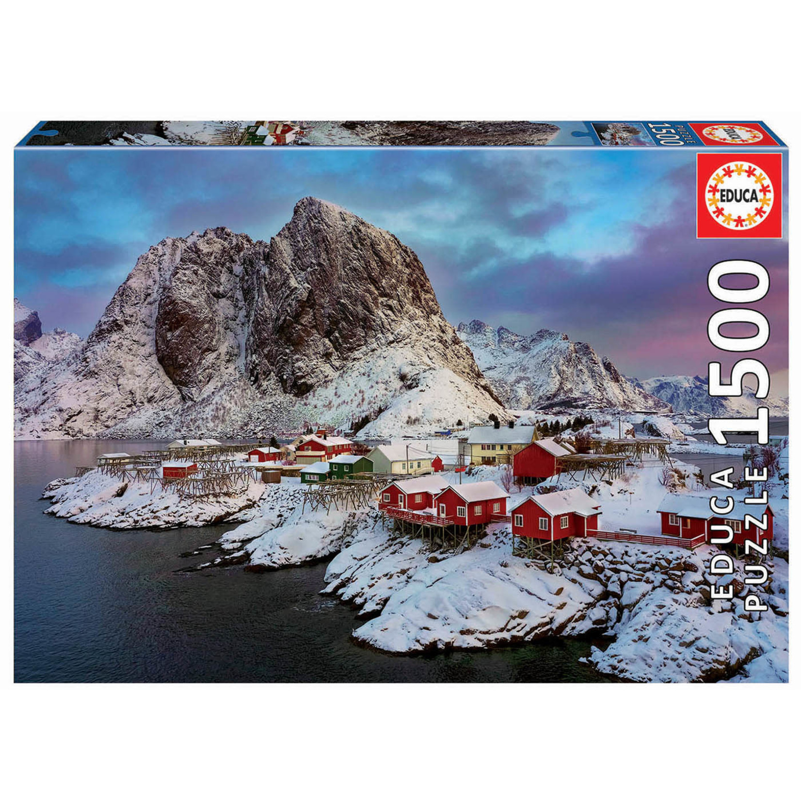 Educa Puzzles Lofoten Islands Norway 1500pc