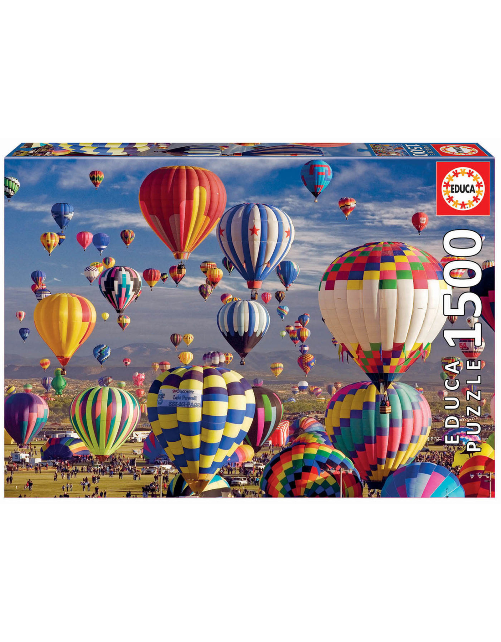 Educa Puzzles Hot Air Balloons 1500pc