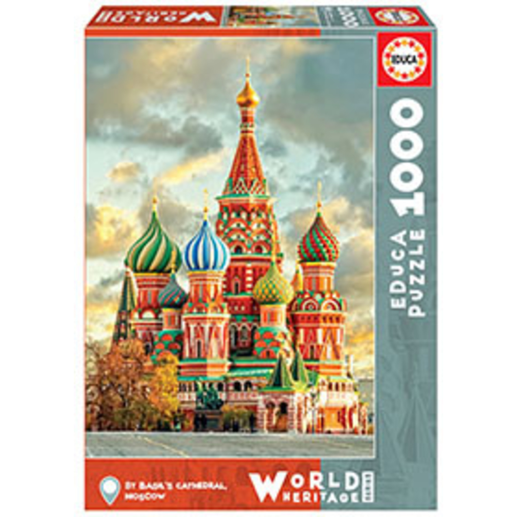 Educa Puzzles St. Basil's Cathedral Moscow 1000pc