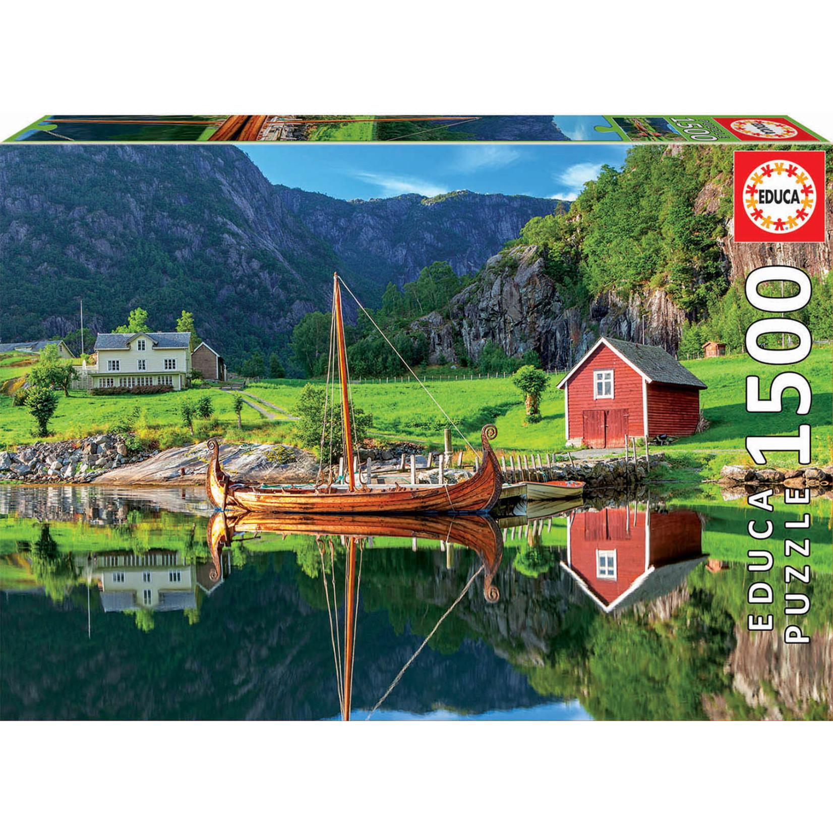 Educa Puzzles Viking Ship 1500pc