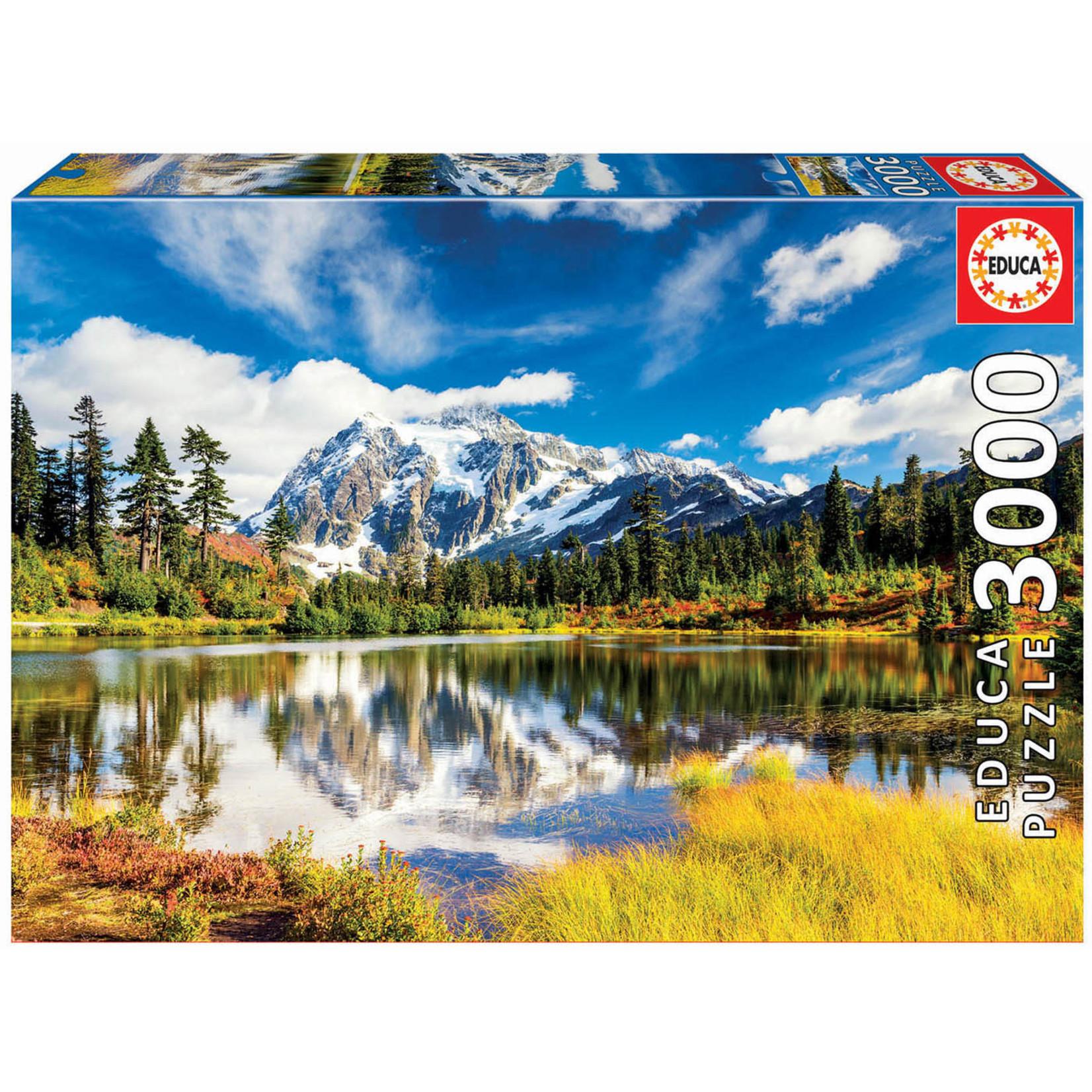 Educa Puzzles Mount Shuksan Washington USA 3000pc