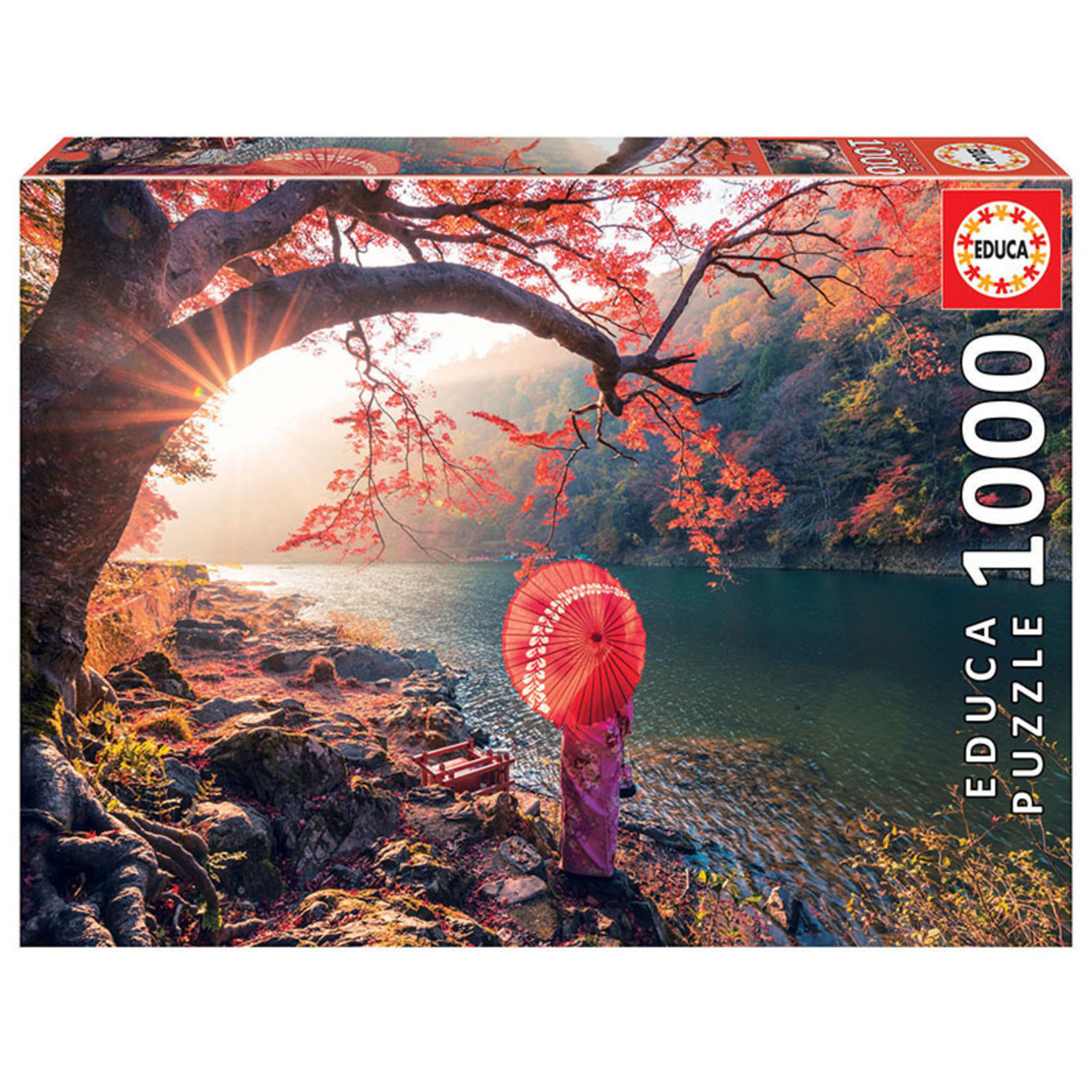 Educa Puzzles Sunrise in Katsura River Japan 1000pc