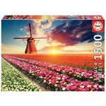Educa Puzzles Tulips Landscape 1500pc