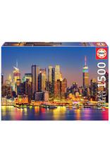 Educa Puzzles Manhattan at Night 1500pc