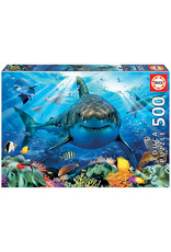 Educa Puzzles Great White Shark 500pc