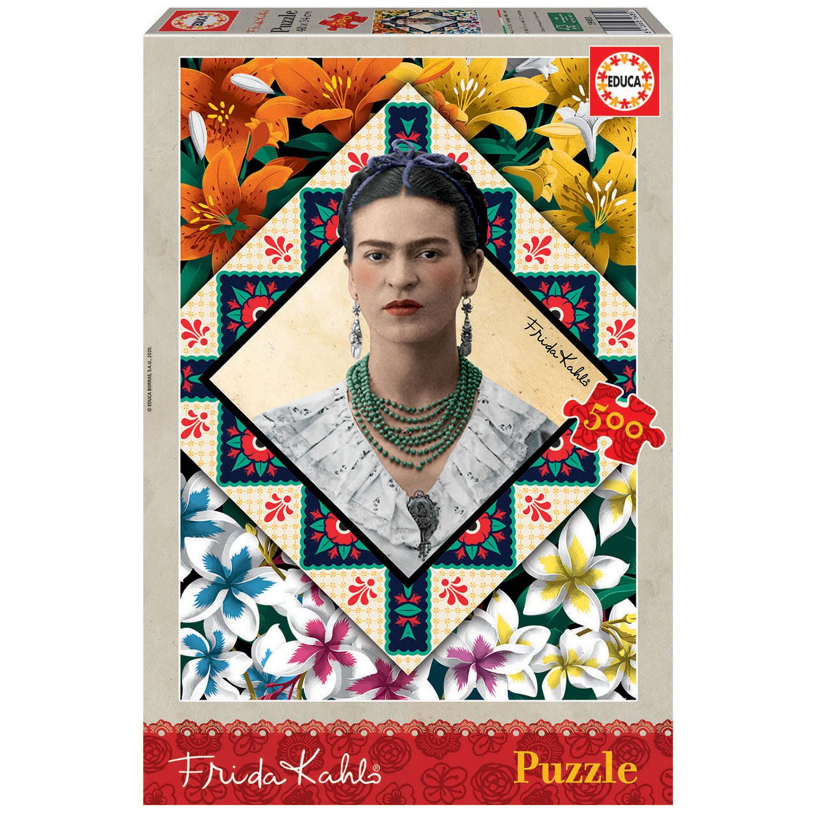 Educa Puzzles Frida Kahlo 500pc