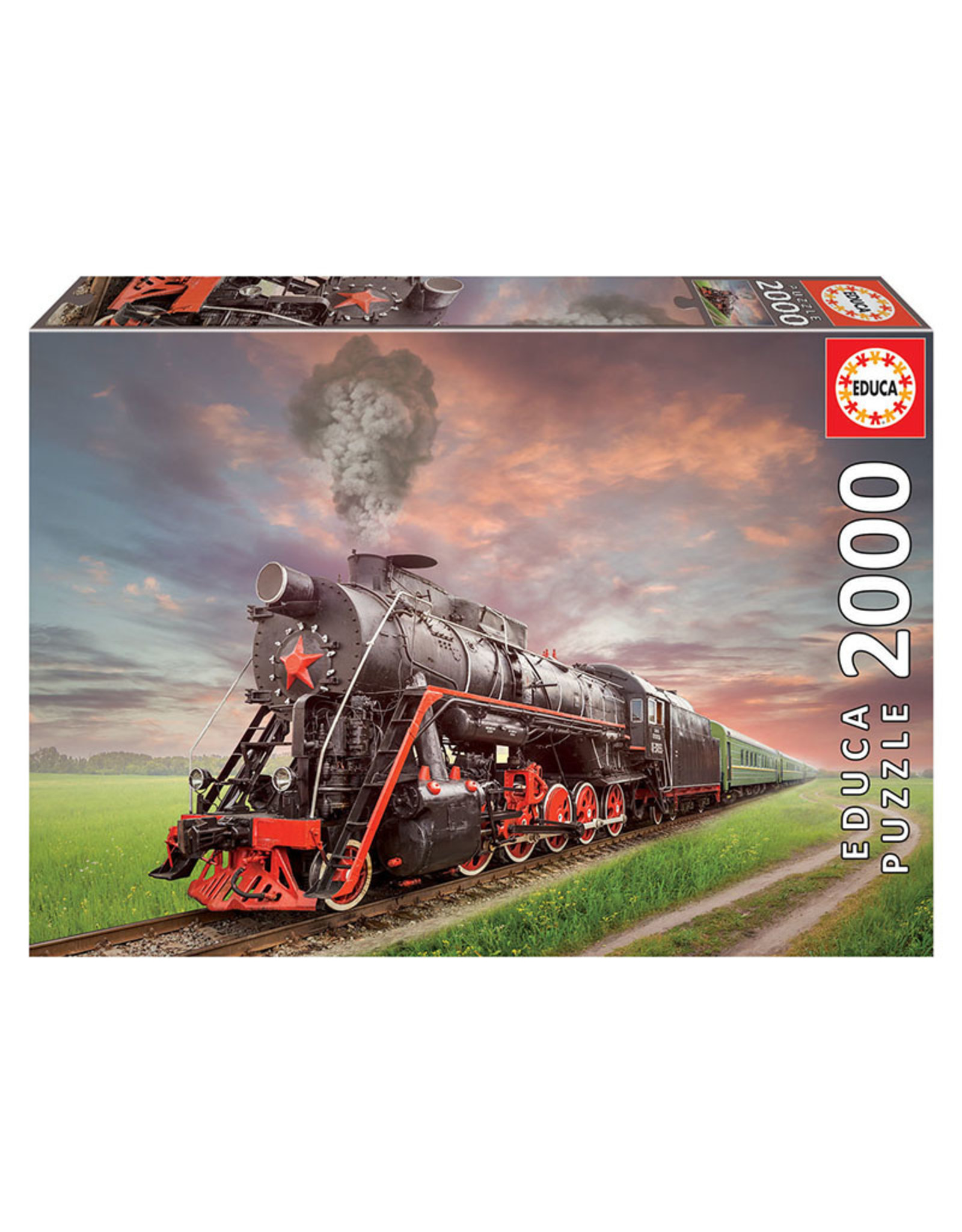 Educa Puzzles Steam Train 2000pc