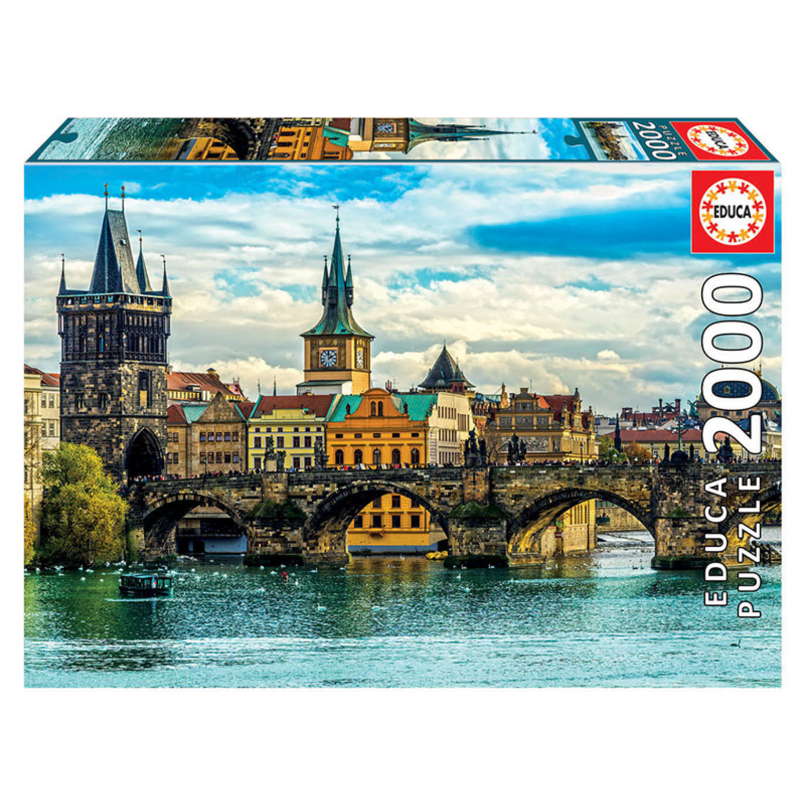 Educa Puzzles Views of Prague 2000pc
