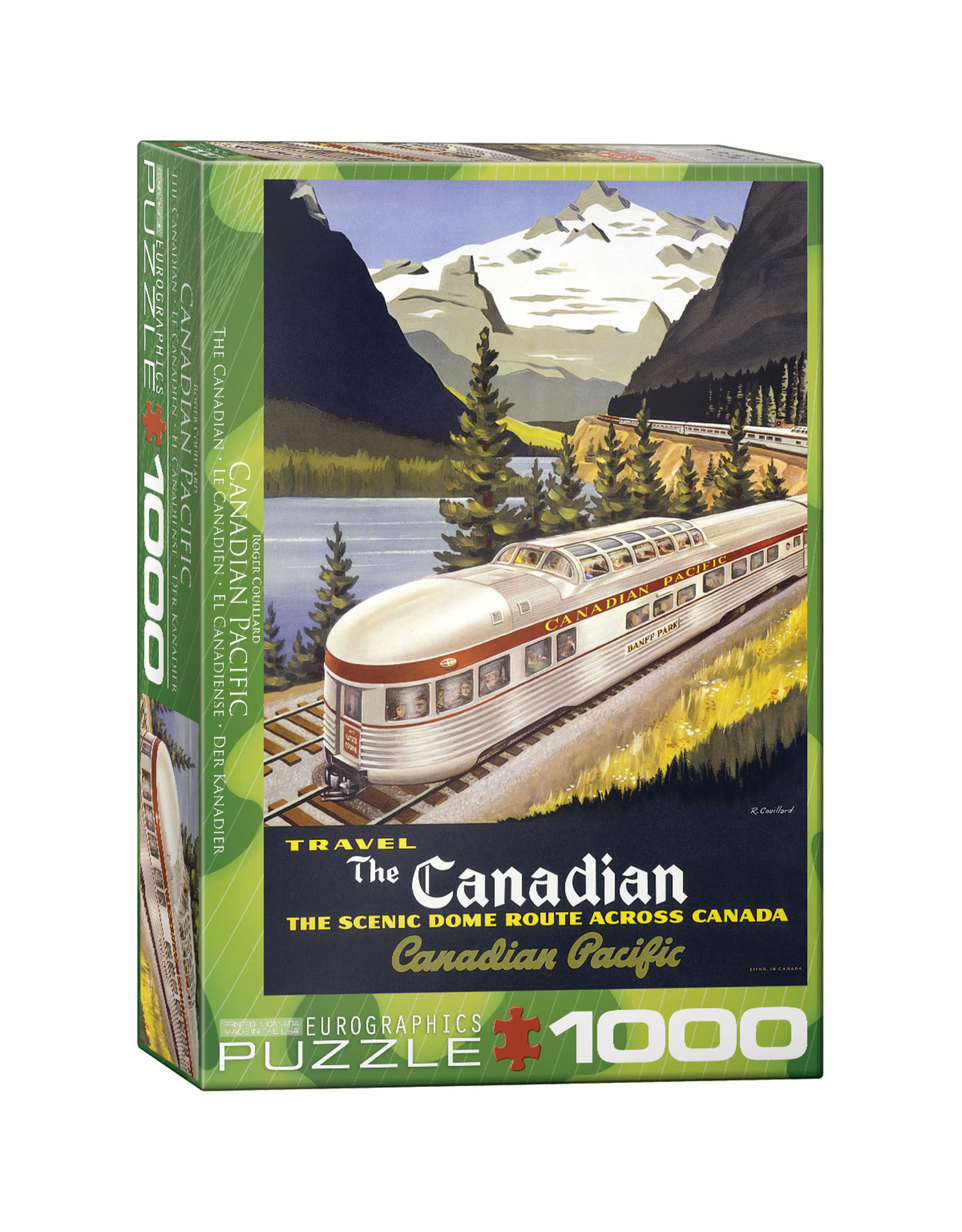 Eurographics Puzzles The Canadian 1000pc