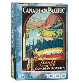 Eurographics Canadian Pacific Banff 1000pc