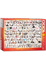 Eurographics Puzzles The World of Cats 1000pc