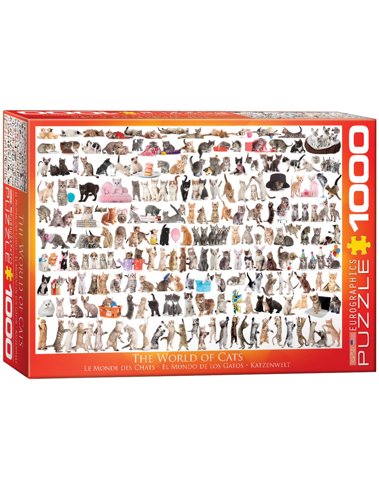 Eurographics The World of Cats 1000pc