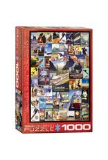 Eurographics Puzzles Railroad Adventure 1000pc