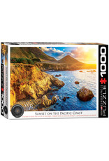 Eurographics Puzzles Sunset on the Pacific Coast 1000pc