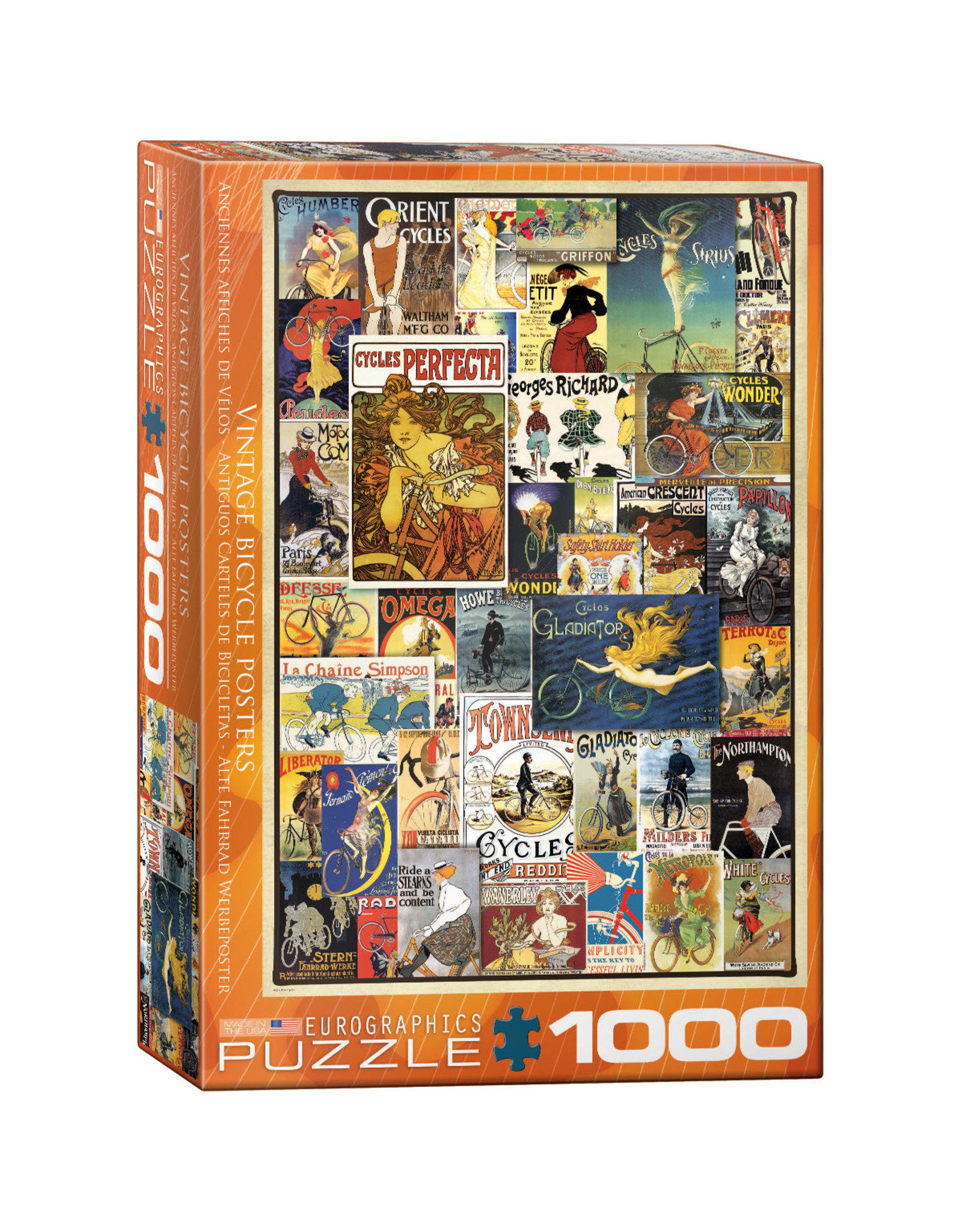 Eurographics Puzzles Bicycles 1000pc