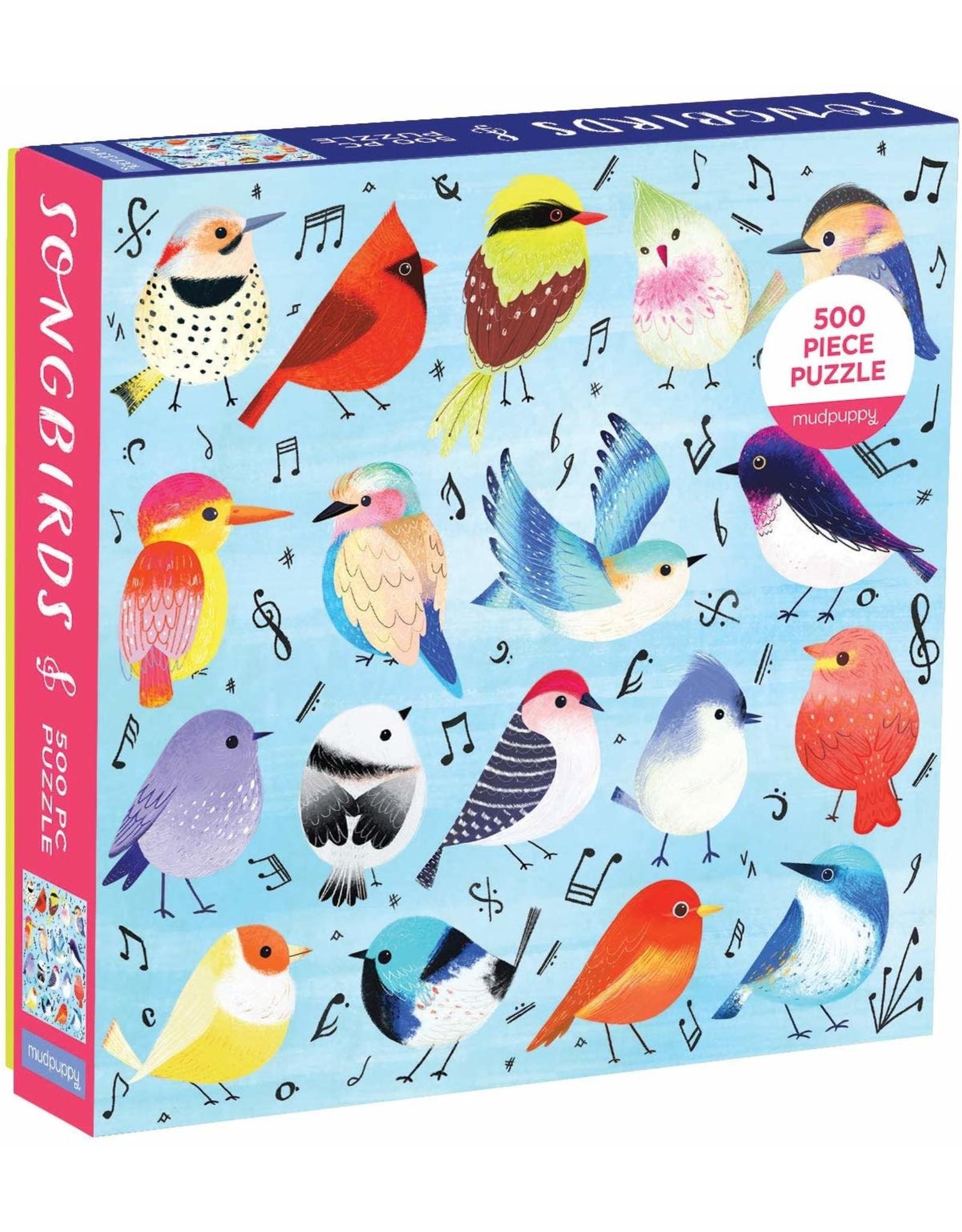 Mudpuppy Songbirds 500pc