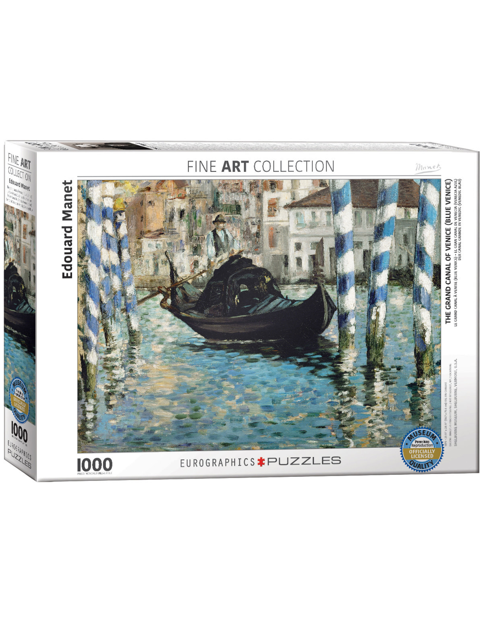Eurographics The Grand Canal of Venice 1000pc