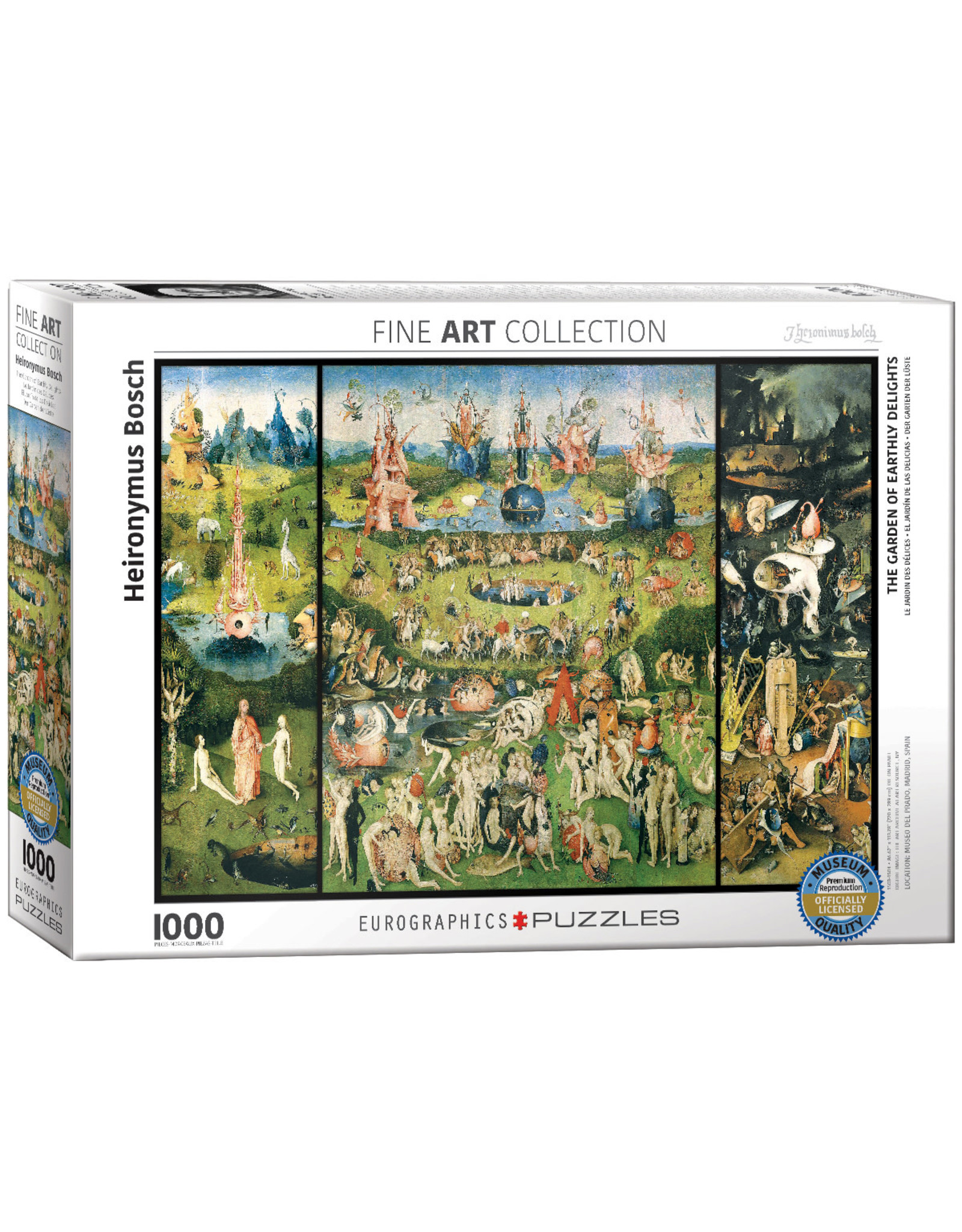 Eurographics Garden of Earthly Delights 1000pc