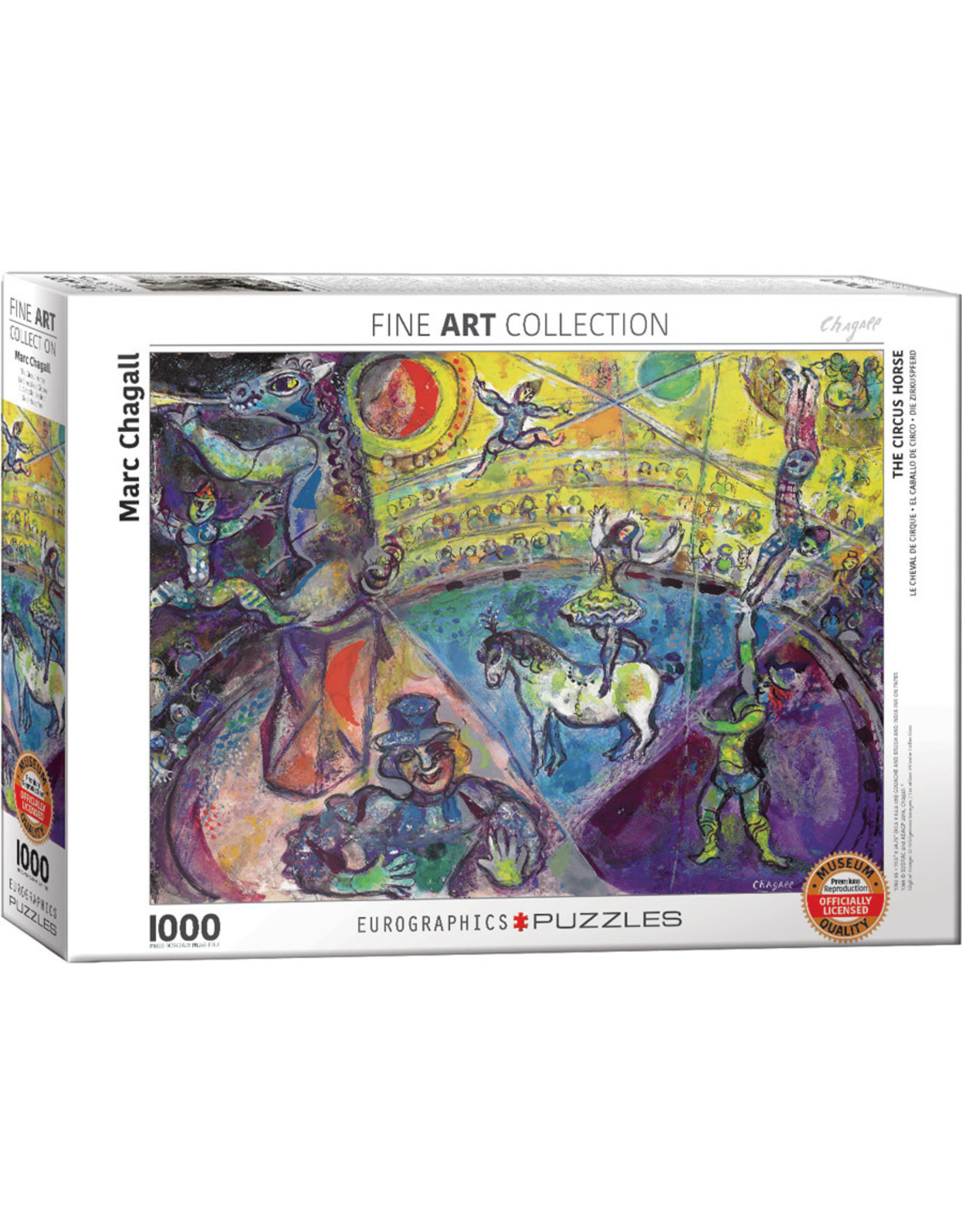 Eurographics Puzzles The Circus Horse 1000pc