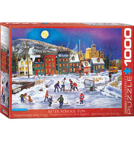 Eurographics Puzzles After School Fun 1000pc