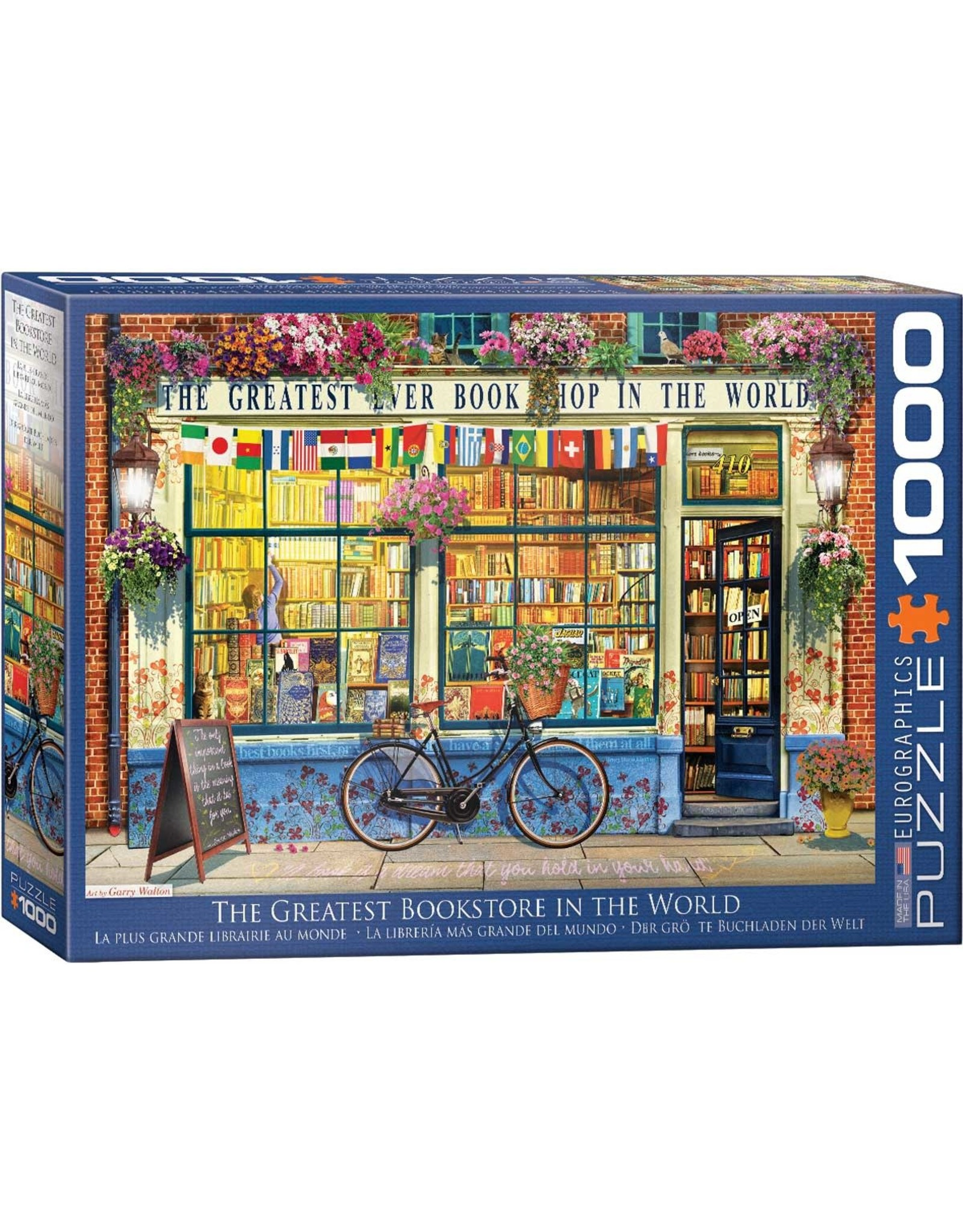 Eurographics Puzzles The Greatest Bookstore in the World 1000pc