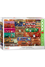 Eurographics Puzzles Travel Suitcases 1000pc