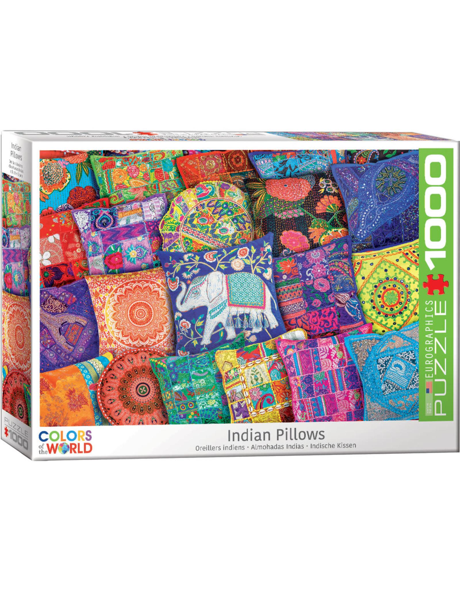 Eurographics Puzzles Indian Pillows 1000pc