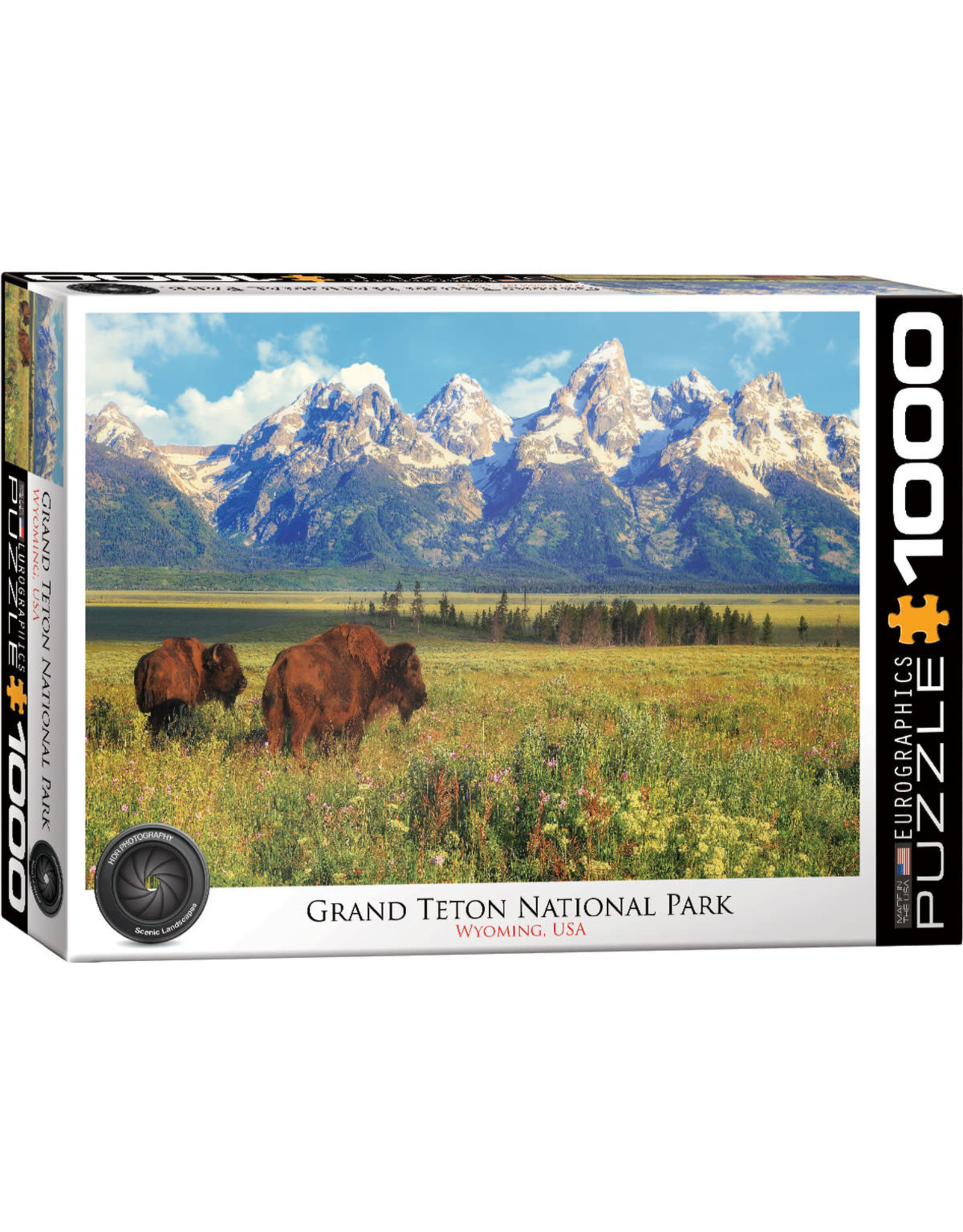 Eurographics Puzzles Grand Teton National Park 1000pc