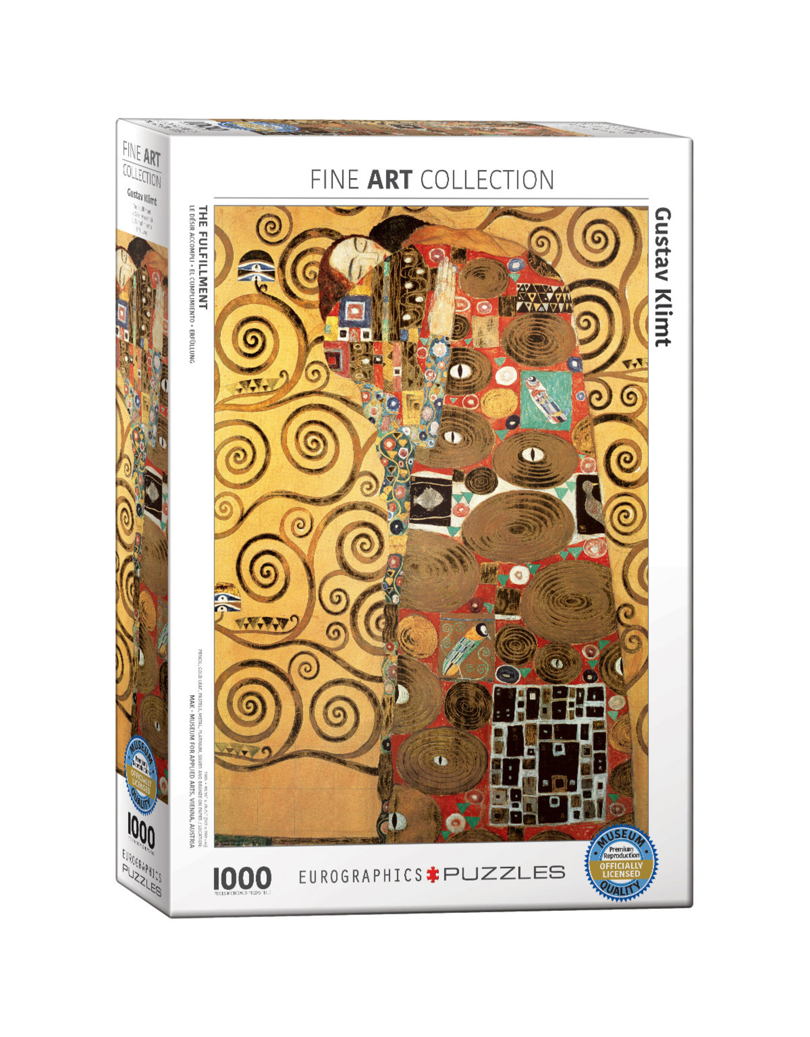Eurographics Puzzles The Fulfillment 1000pc
