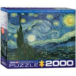 Eurographics Puzzles Starry Night 2000pc