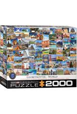 Eurographics Puzzles World Globetrotter 2000pc
