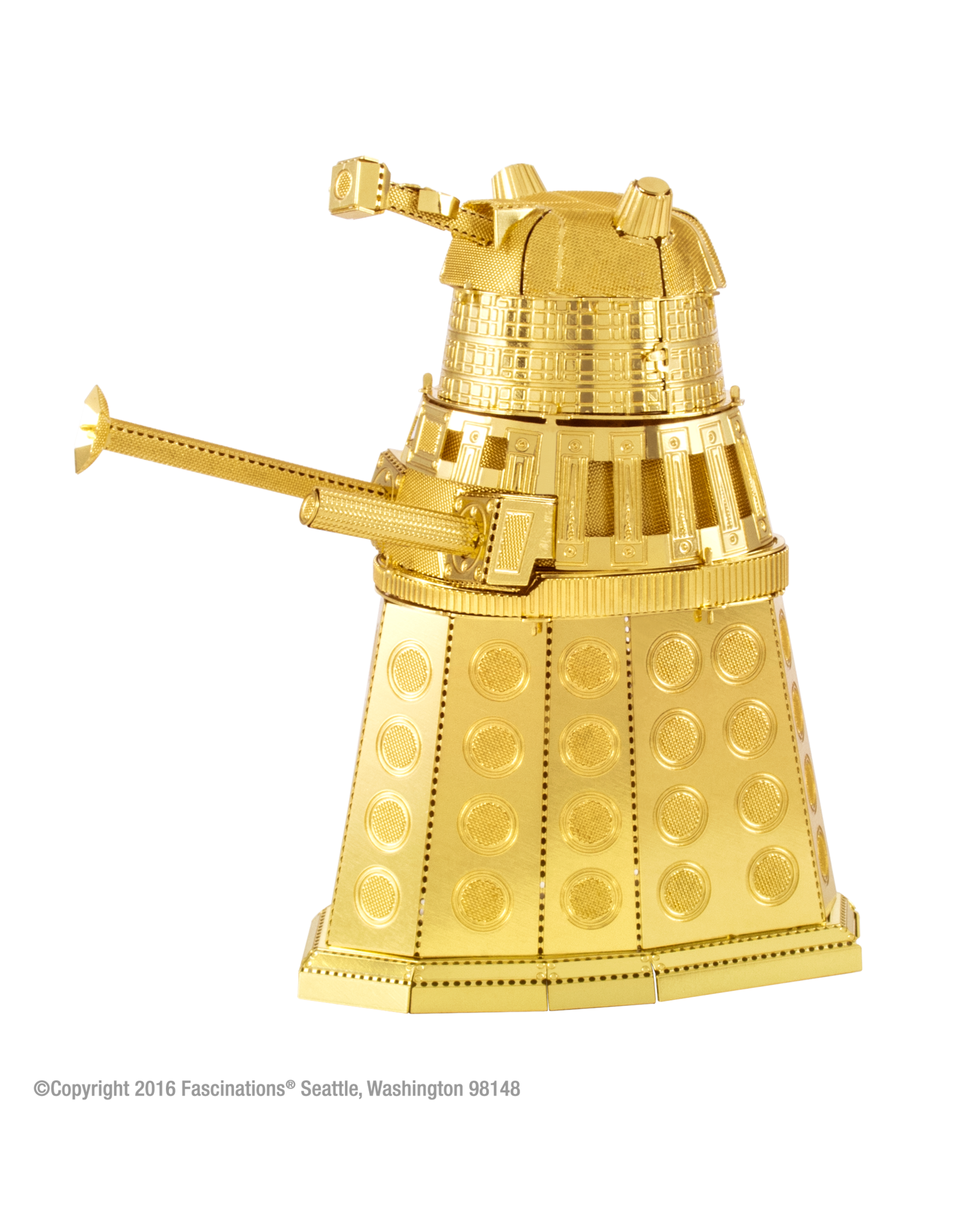 Fascinations Gold Dalek