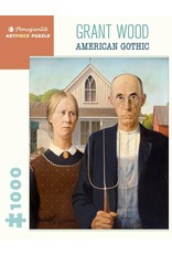 Pomegranate Puzzles American Gothic 1000pc