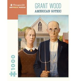 Pomegranate Puzzles American Gothic 1000pc