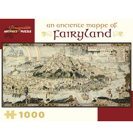 Pomegranate Puzzles An Anciente Mappe of Fairyland 1000pc