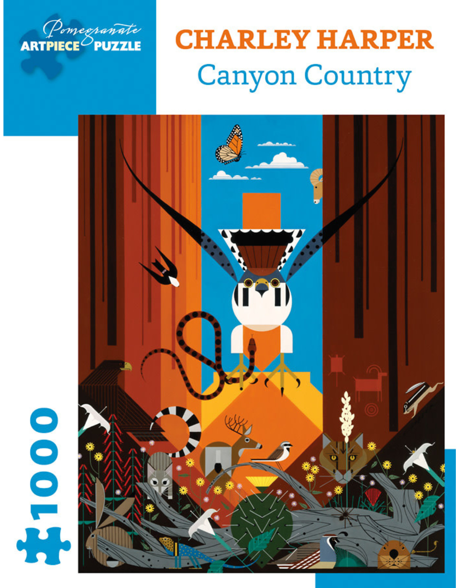 Pomegranate Puzzles Canyon Country 1000pc
