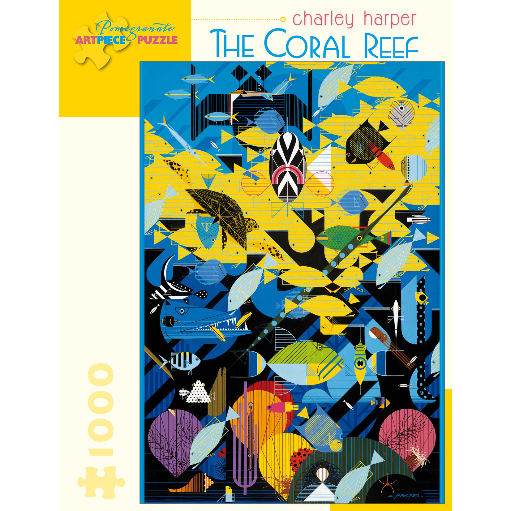 Pomegranate Puzzles Coral Reef 1000pc