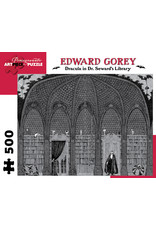 Pomegranate Puzzles Dracula in Dr. Seaward's Library 500pc