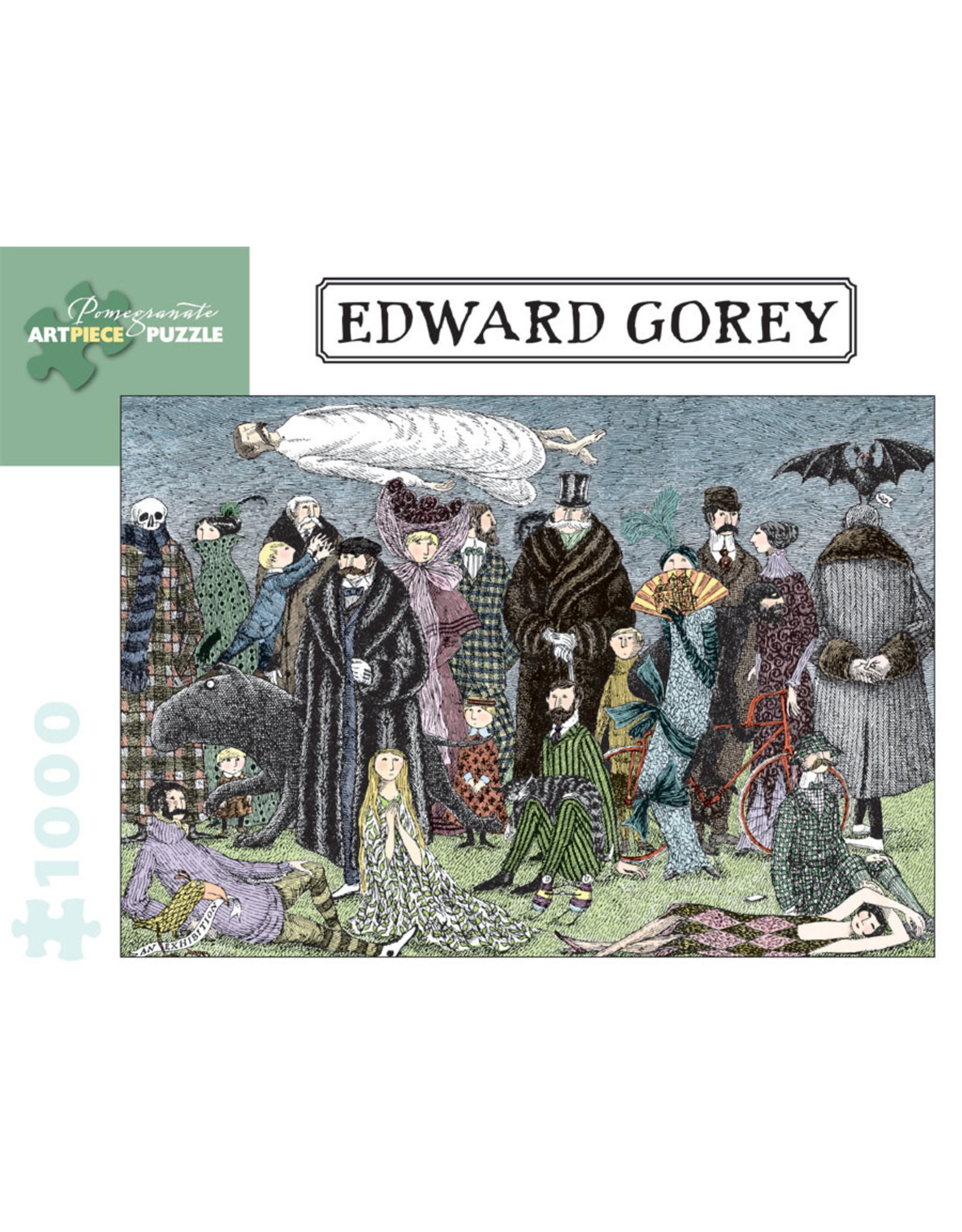 Pomegranate Puzzles Edward Gorey 1000pc