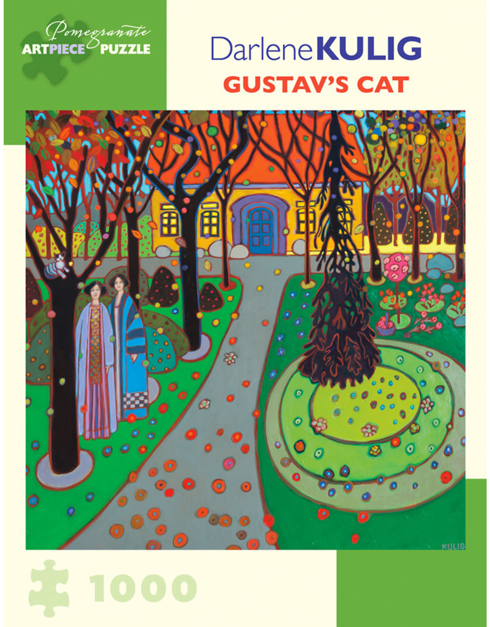 Pomegranate Puzzles Gustav's Cat 1000pc