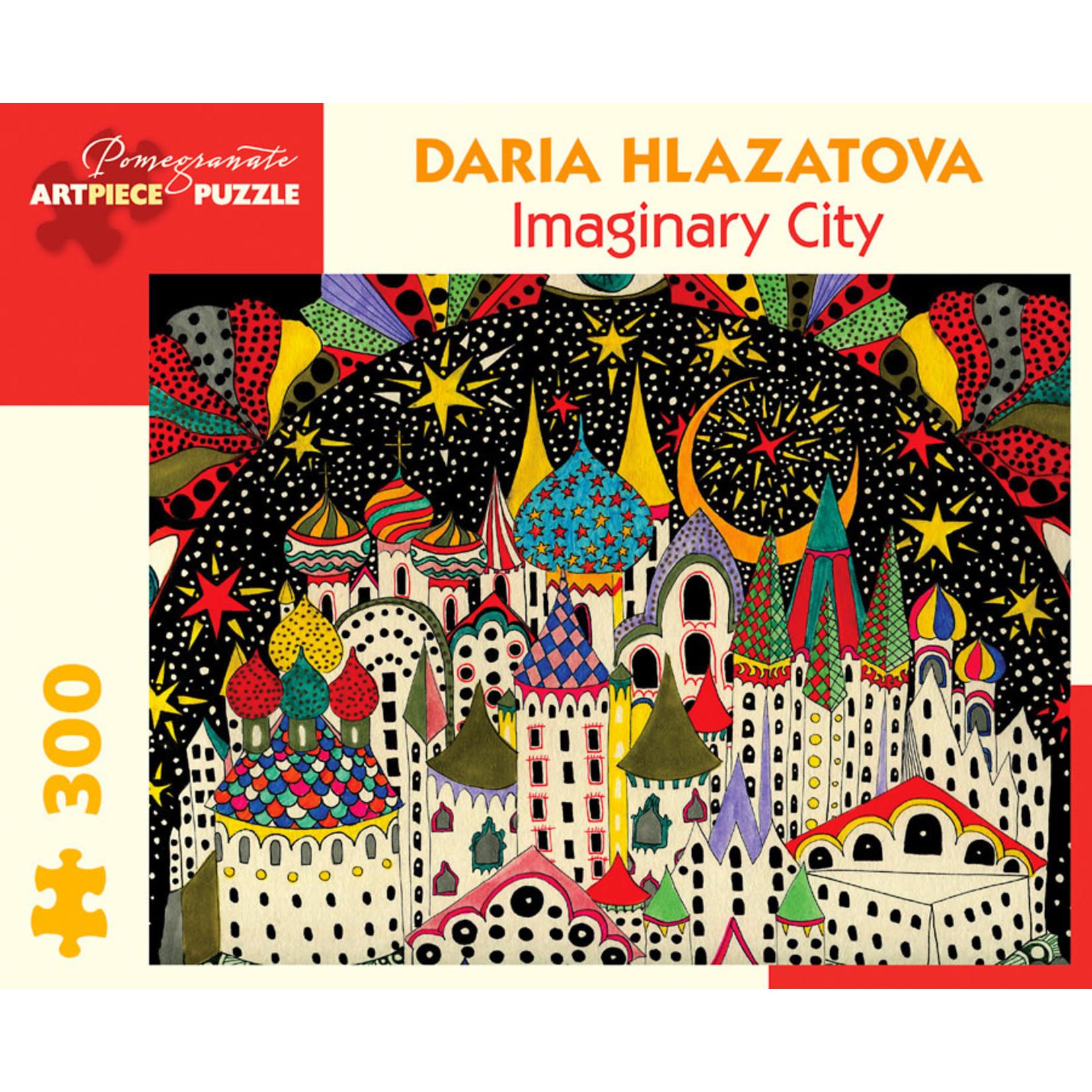 Pomegranate Puzzles Imaginary City 300pc