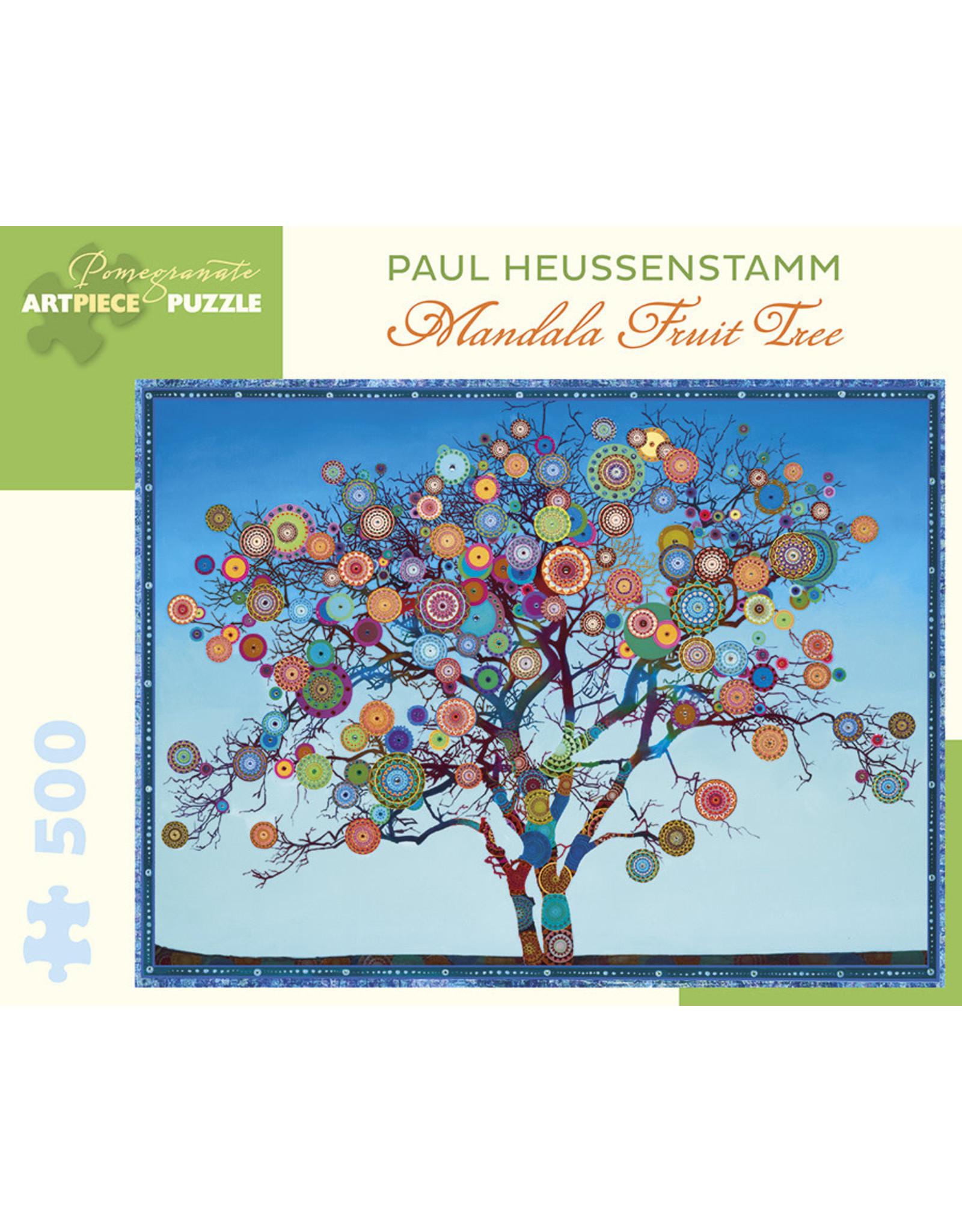 Pomegranate Puzzles Mandala Fruit Tree 500pc