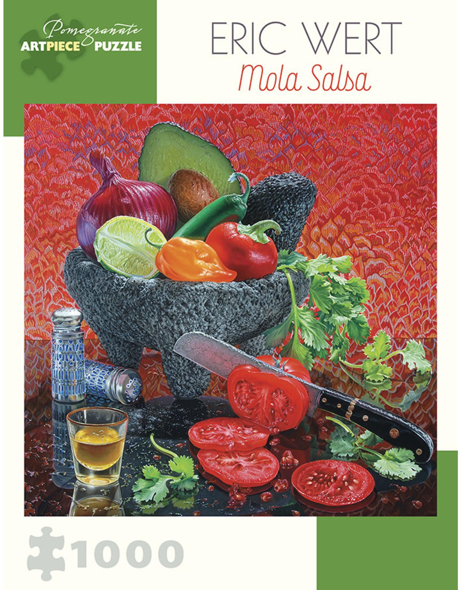 Pomegranate Puzzles Mola Salsa 1000pc
