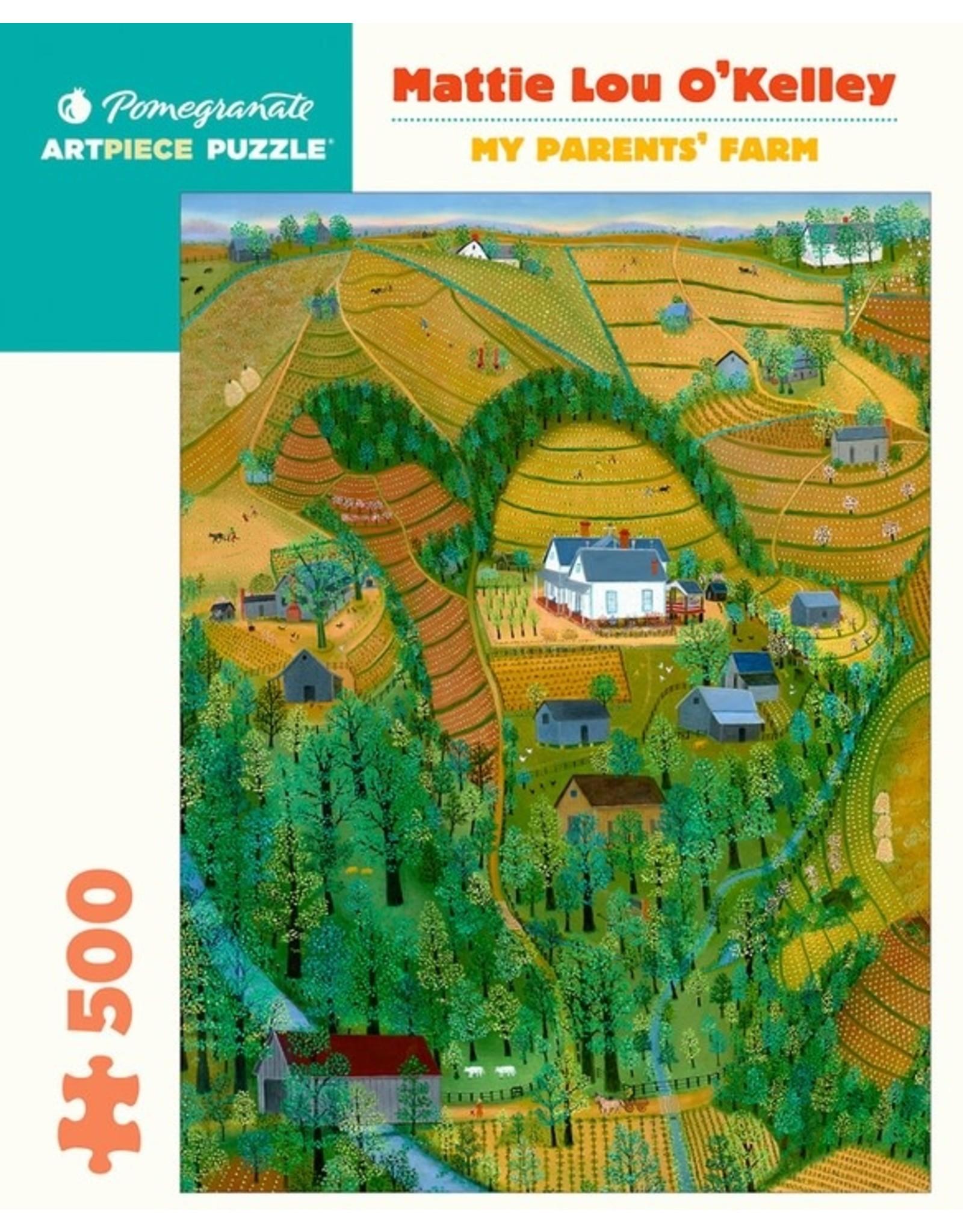 Pomegranate Puzzles My Parents' Farm 500pc