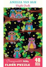 Pomegranate Puzzles Night Owls 48pc