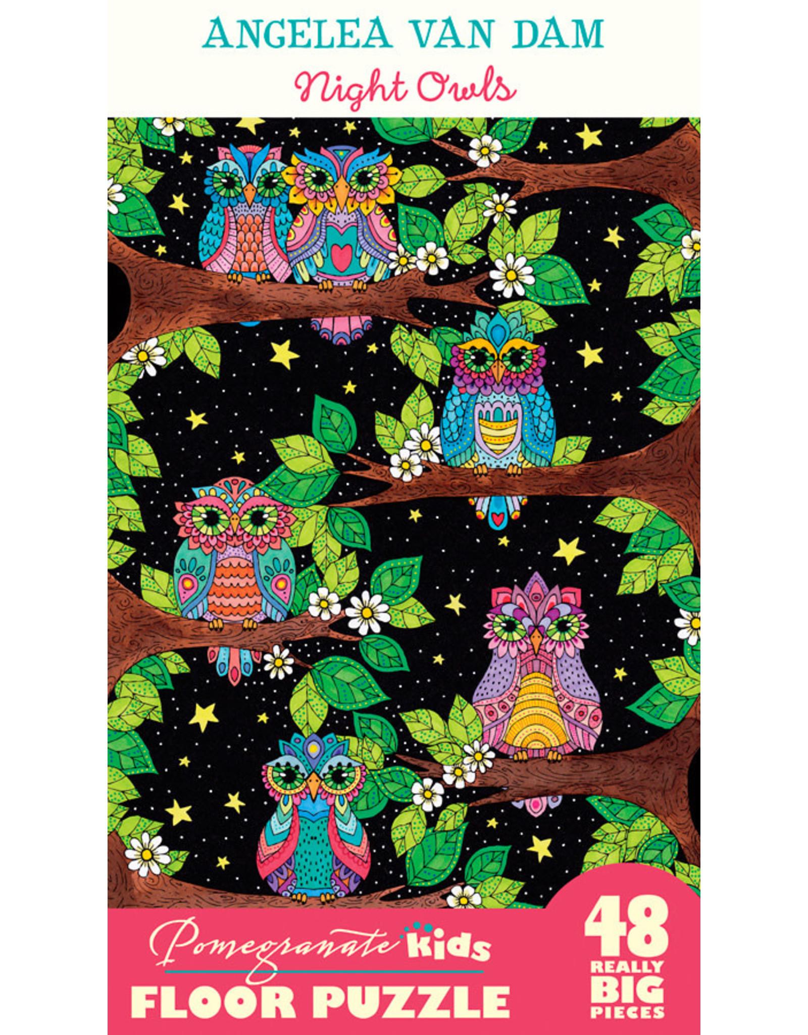 Pomegranate Night Owls 48pc