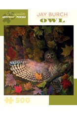 Pomegranate Puzzles Owl 500pc