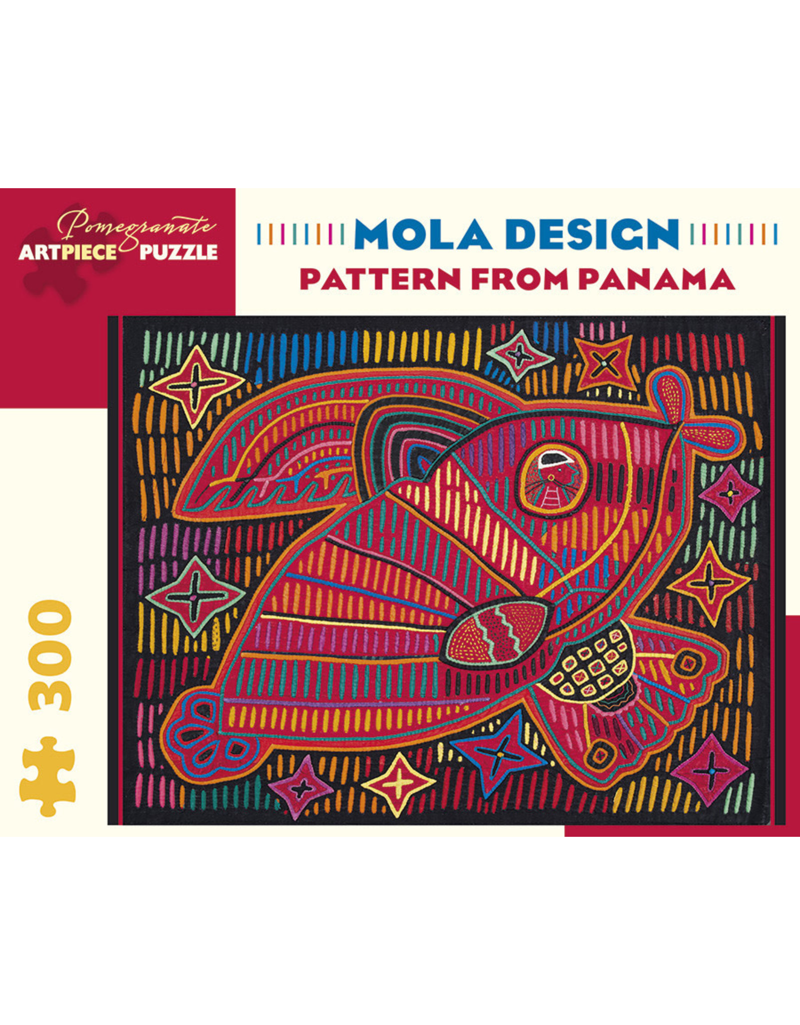 Pomegranate Puzzles Pattern from Panama 300pc