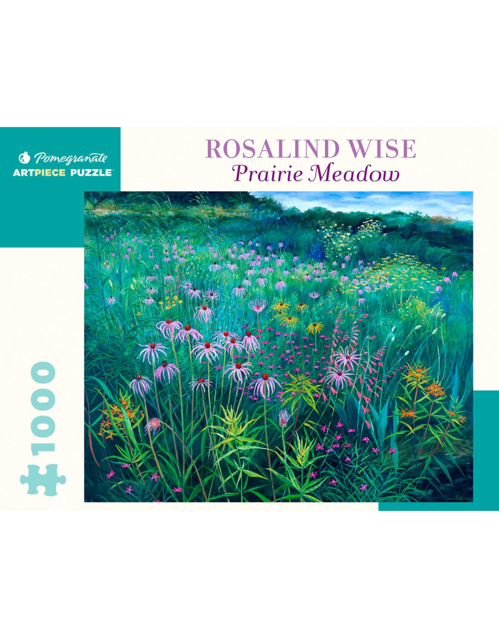 Pomegranate Puzzles Prairie Meadow 1000pc