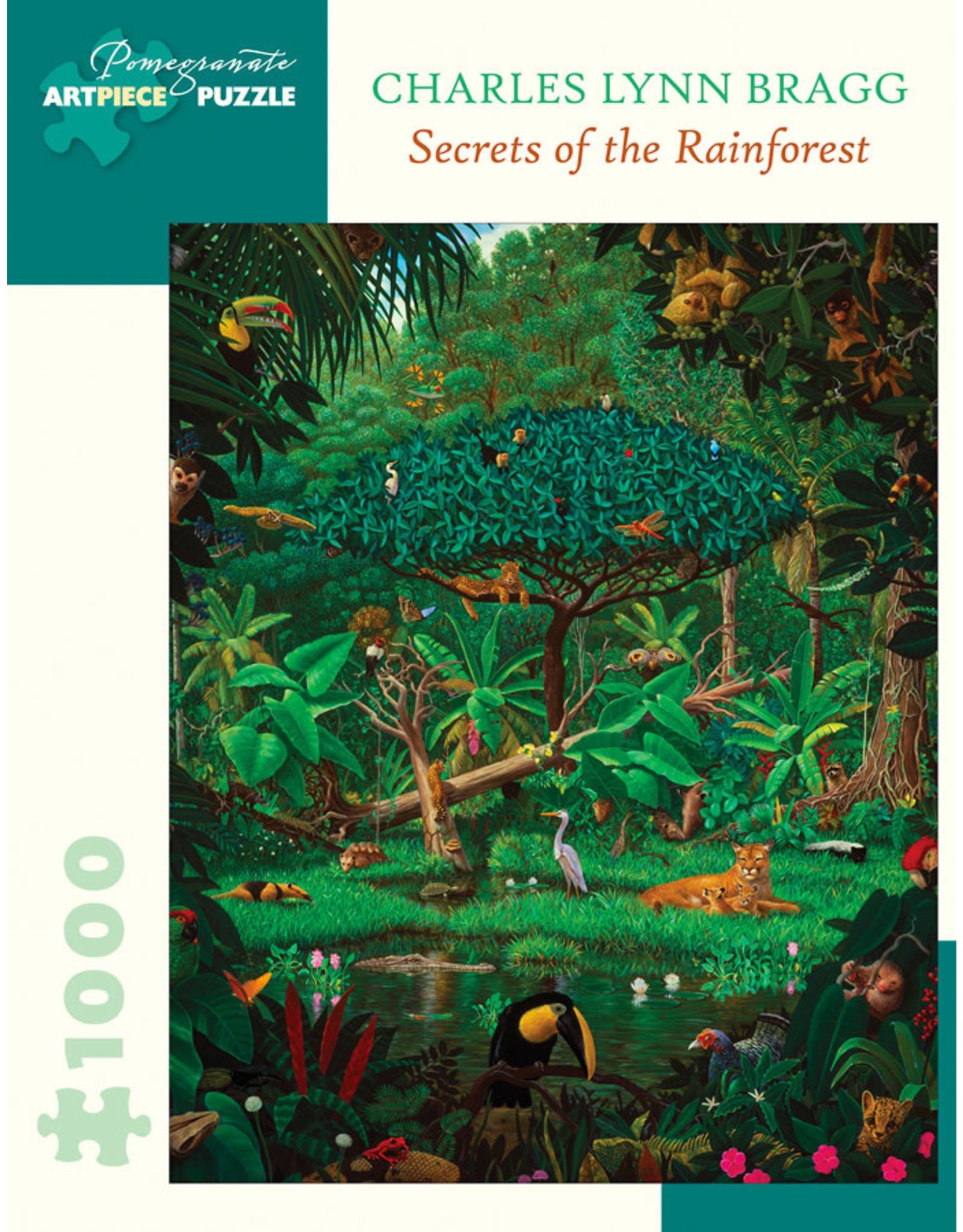 Pomegranate Puzzles Rainforest 1000pc